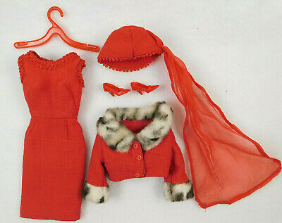 $ CDN51.18 • Buy VINTAGE 1960's MATTEL BARBIE MATINEE FASHION #1640 OUTFIT