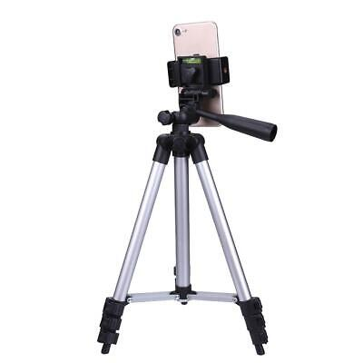£4.99 • Buy Universal Tripod Stand Telescopic Camera Phone Holder 106CM For IPhone Samsung