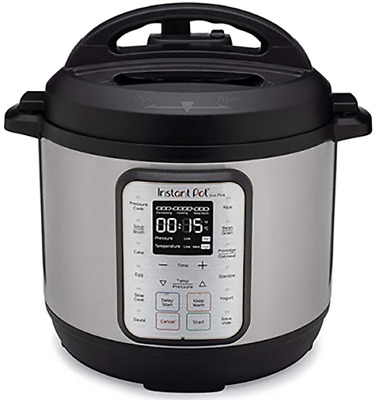 $60 • Buy Instant Pot Duo Plus 8 Quart 9-in-1 Electric Pressure Cooker, Slow Cooker, Rice