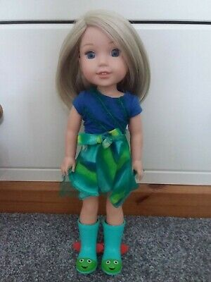 £16 • Buy American Girl Doll Wellie Wisher Camille