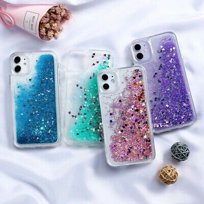 AU9.38 • Buy Quicksand Case For IPhone 8 7 6 6S Plus 12 11 Pro XS Max XR X Silicone TPU Cover