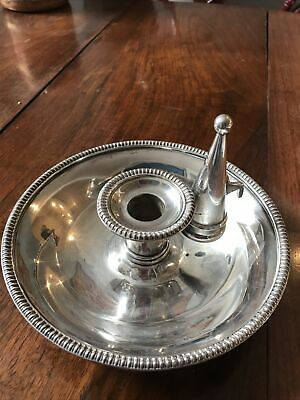 £20 • Buy Silver Plated Candle Holder With Snuffer