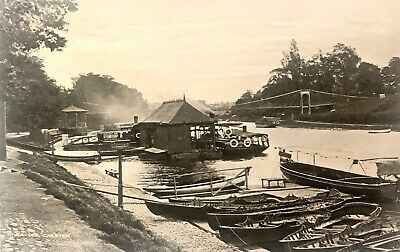 £2 • Buy Early 1900s Postcard Boats On The River Dee, Chester, Cheshire.