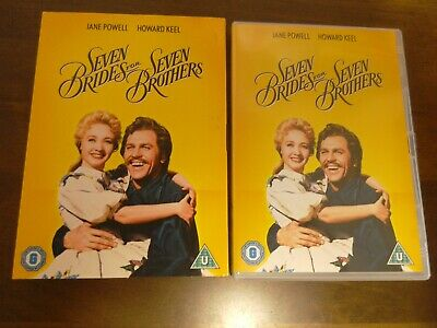 £2.99 • Buy Seven Brides For Seven Brothers (DVD, Rare Title With Slip Cover.