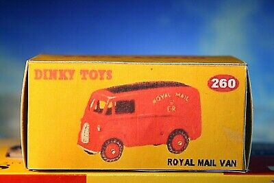 $5.49 • Buy Royal Mail Van Dinky Toys Reproduction Box Number 260