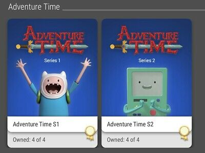 $4900 • Buy Nft Veve Series 1 And 2 Adventure Time 8 Collectibles In All