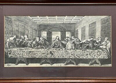 £30 • Buy Pencil Drawing Of The Last Supper.