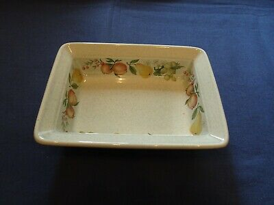 £10 • Buy Wedgwood 'quince' Pattern, Oven To Table, Rectangular Butter Dish, 1st Qlty