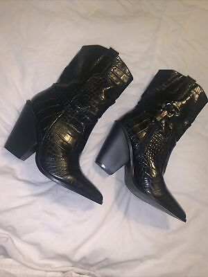 £10 • Buy Croc Pointed Cowboy Boots Uk 5