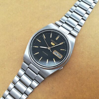 £35 • Buy Vintage Seiko 5 Automatic 7009-3130 – Lightly Refurbished, Working, Regulated