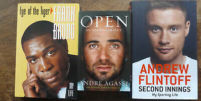 £7.99 • Buy Second Innings:  Flintoff, Andrew,OPEN , Andre Agassi, Eye Of The Tiger Bruno.F
