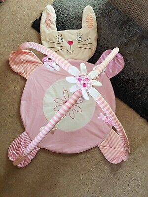 £3 • Buy Bunny Play Mat/Gym With Hanging Toys