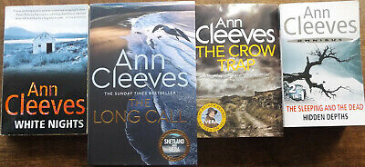£8.99 • Buy The Long Call By Cleeves, Ann + White Nights,+ The Crow Trap 4 Books, 5 Novels,