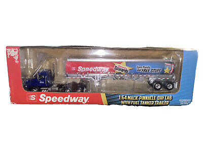$44.99 • Buy  First Gear Dcp 1/64 Speedway Mack Pinnacle Cab Fuel Tanker Tractor Trailer Semi