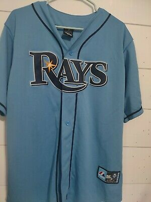 $13.99 • Buy Tampa Bay Rays Majestic Jersey Size Large