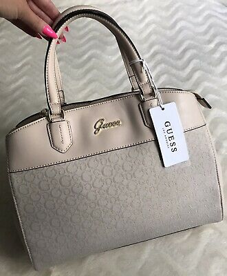 $ CDN130.18 • Buy Guess Logo Beige Hand Bag/Shoulder Bag New With Tags RRP £115