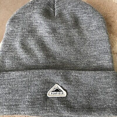 £8.50 • Buy Penfield Classic Tag Beanie Os Unisex Sold Out Grey
