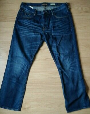 £8.99 • Buy Mens Duck And Cover Dark Blue Designer Bootcut Jeans  W38 L32~fast Post