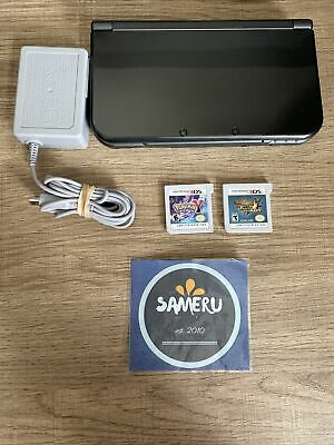 $249.99 • Buy Used 'new' Nintendo 3ds Xl Black Console Pokemon Y & Monster Hunter 4 Ultimate