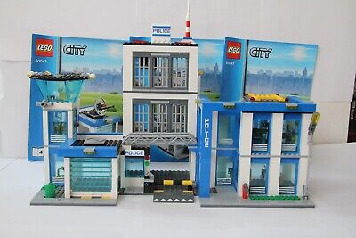 £45 • Buy Lego City 60047 Police Station *COMPLETE*