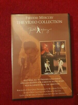 £3.99 • Buy Freddie Mercury-The Video Collection.(2000,DVD) Played Once