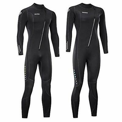 $90.67 • Buy Ultra Stretch 3mm Neoprene Wetsuit Front Zip Full Body Diving Suit One Piece ...