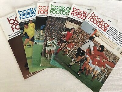 £20 • Buy Marshall Cavendish 1971 Book Of Football Job Lot Parts 1,2,3,4,6,7 Excellent