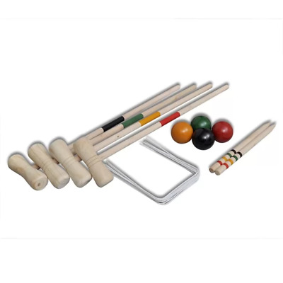 £40.98 • Buy Carly 4 Player Croquet Set