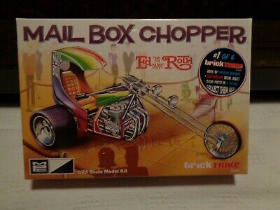 $27 • Buy 1/25 Scale MPC Mail Box Chopper (BIG DADDY ED ROTH)  Kit. (NEW REISSUE).