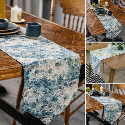 AU29.48 • Buy Vintage Table Runner Print Tablecloth Dining Party Kitchen Home Placemat Decor