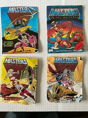 $4.98 • Buy  Masters Of The Universe (4) Mini Comics From 1981/1982