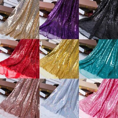 £4.49 • Buy Wedding Arch Backdrop Sequin Fabric Sparkly Mesh Shiny Bling Material 130cm Wide