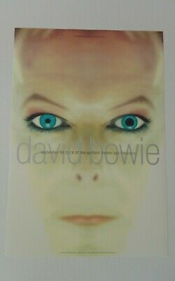 $60 • Buy David Bowie Concert Poster From 1997 San Francisco Original New Condition!