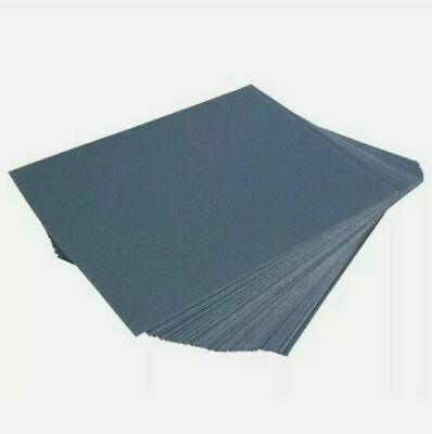 £3.99 • Buy 10pc Wet & Dry Assorted Emery Sand Paper Fine Medium Coarse Sheets Metal Wood