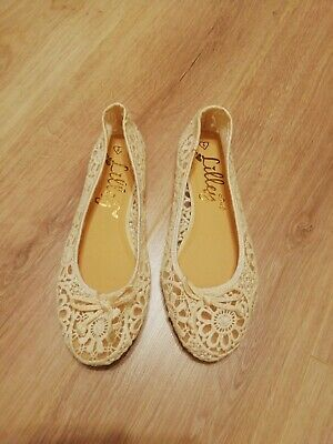 £6.20 • Buy Lilley Lace Ballet Pumps Size 5 Ivory Colour. New Without Tags. Summer Shoes
