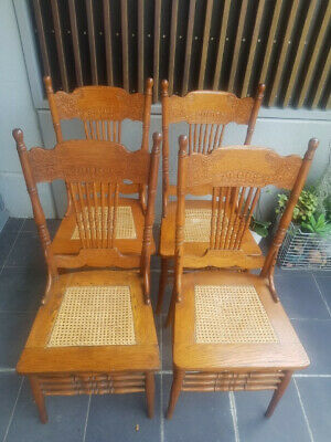 AU1 • Buy Dining Chairs Spindleback Antique American