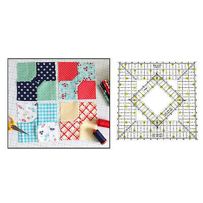 $15.93 • Buy Quilting Templates Stencils For Sewing Machine Hand Sewing Pathcwork Craft