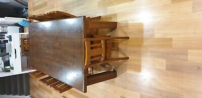 AU95 • Buy Timber Dining Table And Chairs