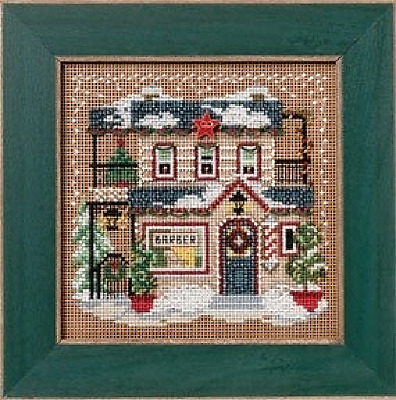 $11.49 • Buy MILL HILL Buttons Beads Kit Counted Cross Stitch BARBER SHOPPE MH14-2302