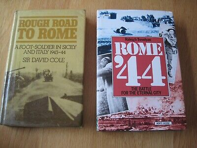 £1.50 • Buy Pair Of Vintage Books About The Italy Campaign In World War 2