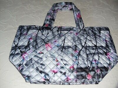 $180 • Buy Brand New MZ WALLACE Large Magnolia Print In Pink/Grey