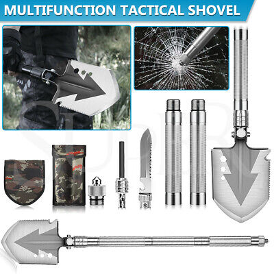 AU36.99 • Buy Multifunction Tactical Shovel Outdoor Folding Camping Survival Tools Military