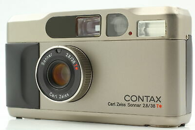$ CDN877.60 • Buy [As-Is] Contax T2 35mm Point & Shoot Film Camera W/ Strap From JAPAN