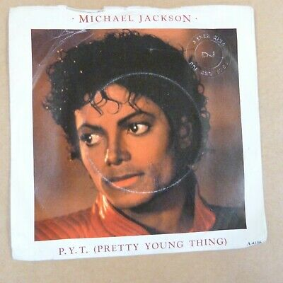 £5 • Buy 45rpm 7  Single MICHAEL JACKSON Pretty Young Thing / This Place Hotel 1981, 4136