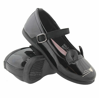 £7.95 • Buy New Girls School Shoes Casual Formal Party Dress Wedding Boots Shoes Black Sizes