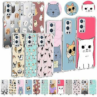 AU6.77 • Buy For OnePlus Nord CE 5G N20 N100 N10 Candy Colors Cat Pattern Soft TPU Case Cover
