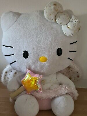 £15 • Buy Large TY 12  Hello Kitty Fairy Angel Plush With Wings & Wand