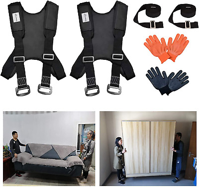 AU72.95 • Buy Furniture Moving Straps Shoulder Lifting Carrying Heavy Weights Handling Product