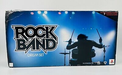 £172.79 • Buy Harmonix Rock Band 822148 Wired Drum Set For PS2 Or PS3 New Old Stock Open Box