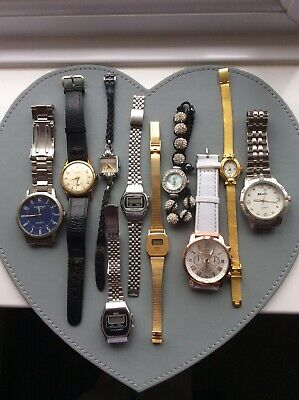 $ CDN17.44 • Buy Vintage Watches, And Modern, 10 Mixed, Parts Only